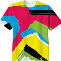Abstract 1 T-Shirt created by PoseManikin | Print All Over Me