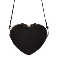 Heart Shaped Crossover Bag - Black by Indigo | Handbags Gifts | chapters.indigo.ca