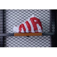 NIKE AIR MORE UPTEMPO QS WHITE RED