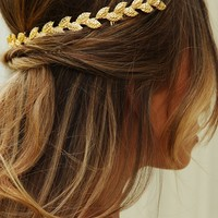 Queen Cleopatra Headband: Gold