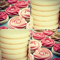 Rose Cookies for All Occasions! (A Dozen)
