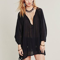 Free People Womens Costa Brava Tunic