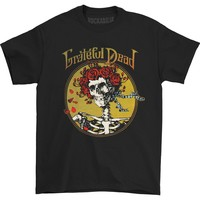 Grateful Dead Men's  Grateful Skull T-shirt Black