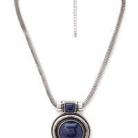 Tribal-Inspired Pendant Necklace