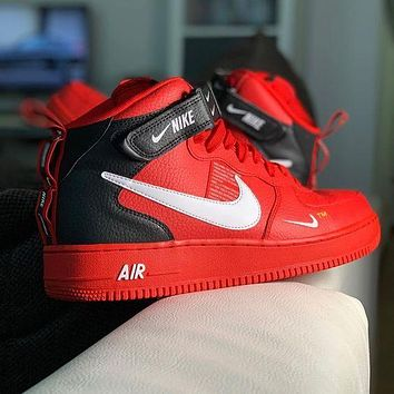 Nike Air Force 1 AF1 high-top alphabet sneakers Shoes
