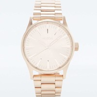 Nixon Sentry Rose Gold Watch - Urban Outfitters