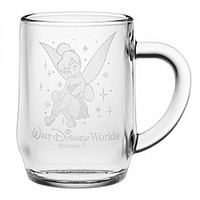 Tinker Bell Glass Mug by Arribas - Personalizable   Disney Store