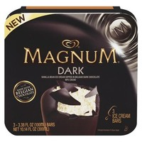 Magnum Dark Chocolate Ice Cream Bar 3 pack
