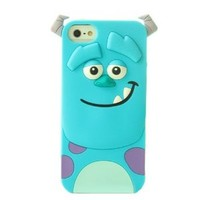 Cute Cartoon Sulley Tigger Marie Ponycat Slinky Dog Spin Phone Case for Iphone5/5s