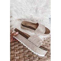 DIRTY LAUNDRY Palm Slide Sandal