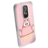 Cute Patrickbest Friends for Best Iphone and Samsung Galaxy Case (samsung galaxy s5 white)