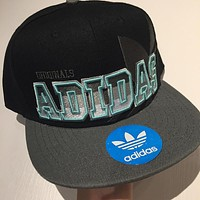 Adidas Fashion Woman Men Sunhat Embroidery Baseball Hat Cap