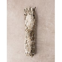 White Sage And Lavender Smudge - Large