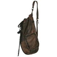 CLAUDE MAUS - WASHED SHEEP SHOULDER BAG
