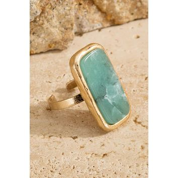 Nahla Ring - Amazonite