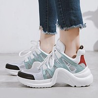 LV Louis Vuitton Women Fashion Sneakers Sport Shoes
