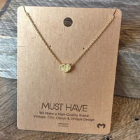 """Heart """"Must Have"""" Necklace"""