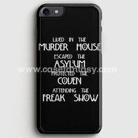 American Horror Story Cover iPhone 7 Case | casefantasy