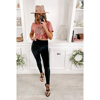 New Rules Velvet Leggings (Black)
