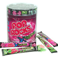 Pop Rocks Sour Xtreme Candy Packets: 48-Piece Tub | CandyWarehouse.com Online Candy Store