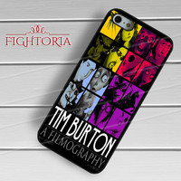Tim Burton Filmography - zFzF for  iPhone 6S case, iPhone 5s case, iPhone 6 case, iPhone 4S, Samsung S6 Edge