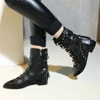 Trad Goth Pike Boots