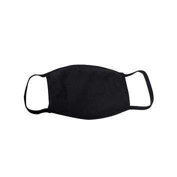 Solid Washable Face Mask - Protective Face Covering