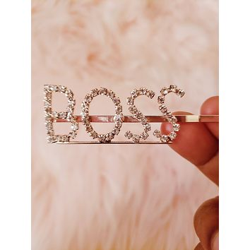BOSS Statement Hair Pin