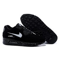 """Nike Air Max 90"" Unisex Sport Casual Fashion Polka Dots Air Cushion Sneakers  Couple Running Shoes"