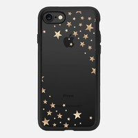 STARSHOWER GOLD Crystal Clear iphone case iPhone 7 Hülle by Monika Strigel | Casetify