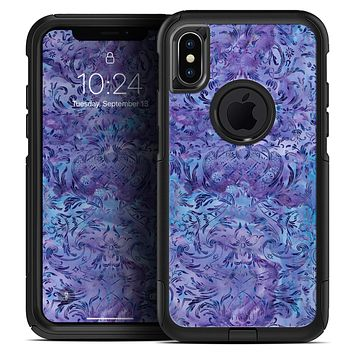 Purple Damask v2 Watercolor Pattern V2 - Skin Kit for the iPhone OtterBox Cases