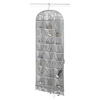 Hanging Jewelry Organizer in Grey Swirl