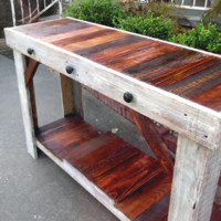 Rustic & Rich Sofa Table, Entry Table, Media Console  