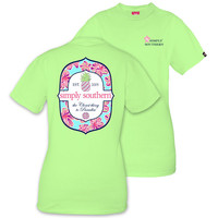 "*Closeout* Simply Southern ""Paradise"" Short Sleeve Tee"