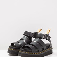 VEGAN BLAIRE - Platform sandals - black felix @ Zalando.co.uk 🛒