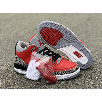 Air Jordan 3 SE Red Cement CK5692-600