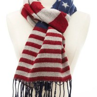 Cozy Americana Scarf by Charlotte Russe