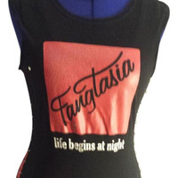 Revamped True Blood Safety Pin Shirt - Small