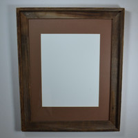 16x20 eco friendly wood picture or poster frame beautiful rustic home decor