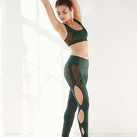 Without Walls Embroidered Scallop Legging - Urban Outfitters
