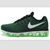 NIKE Women Men Running Sport Casual Shoes Sneakers Dark Green