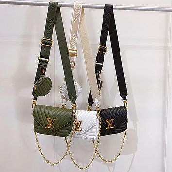 Louis Vuitton LV Crossbody Satchel Shoulder Bag