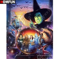 5D Diamond Painting Wizard of Oz Crystal Ball Kit