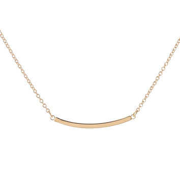 Curved Bar Necklaces