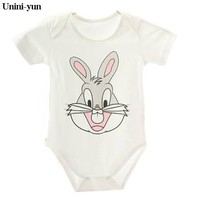 Brand Baby Clothes Pajamas Newborn Baby Rompers Cartoon Infant Short Sleeve Jumpsuits Boy Girl Autumn Spring Unisex Baby Clothes
