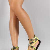 Liliana Intertwined Strappy Sandal