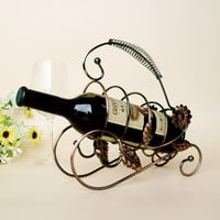 Bottle wine rack.Suit for home and office.Put the wine in right place = 4486907972