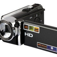 16X 720P HD Digital Video Camera with 32G SD Card Support (Black)