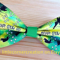 Peter Pan Inspired Hair Bow ... OR ... Bow Tie
