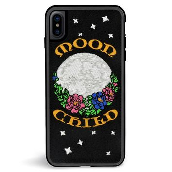 Moonchild Embroidered iPhone XS Max Case